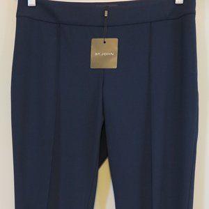 St. John for Nordstrom Navy AllSeason Carine Pants